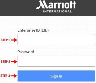 4myhr marriott login steps