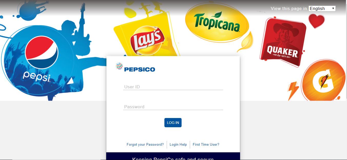 mypepsico login portal