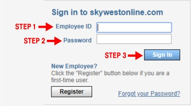 Sky west online login