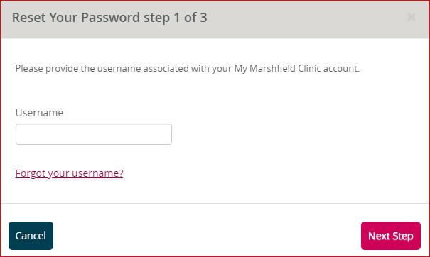 My Marshfield Clinic Login 3