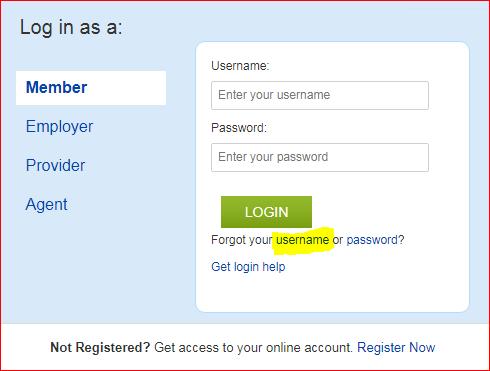 Web DENIS login username 2
