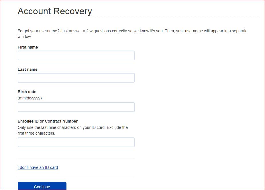 Web DENIS login username