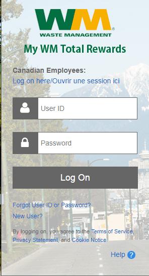 MyWMTotalRewards login steps