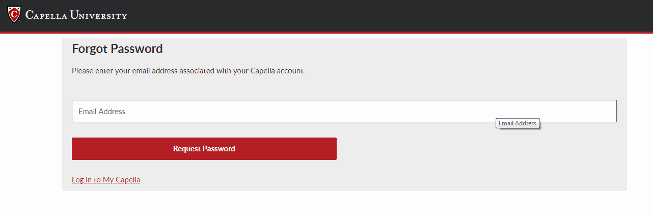 Capella Login