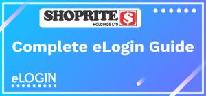 Shoprite Portal Login