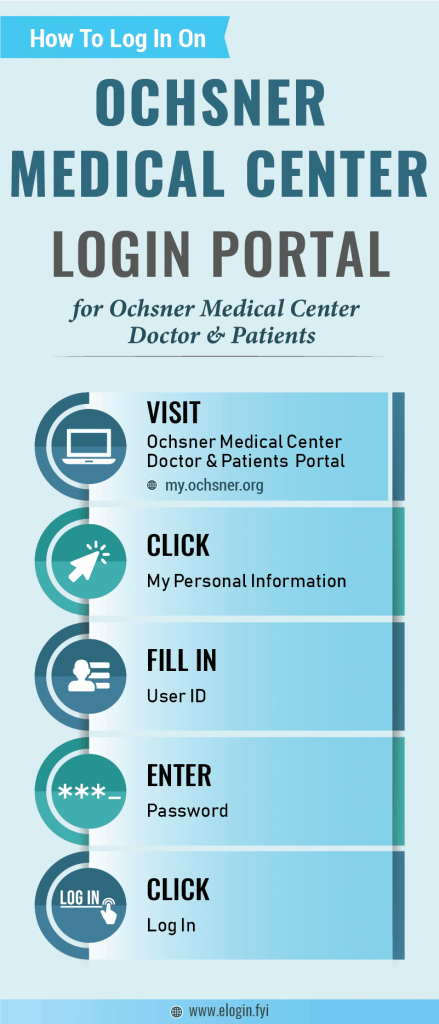 Ochsner Medical Center Login Portal
