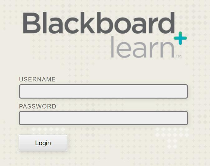 Blackboard Login