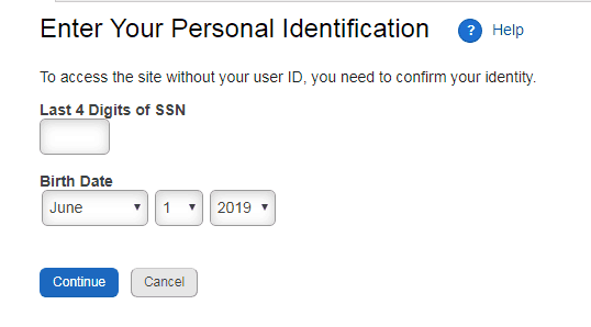 targetpayandbenefits forgot username