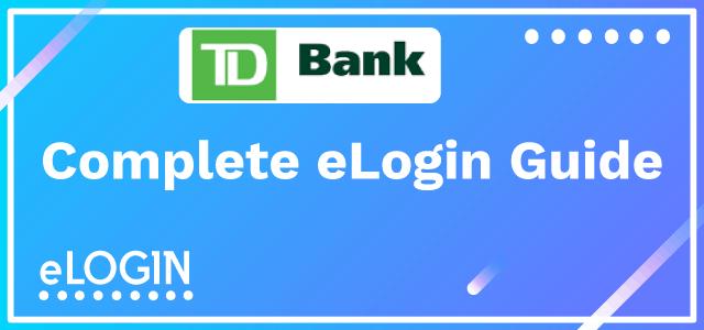 TD Bank Login | TorontoDominion @ onlinebanking tdbank com