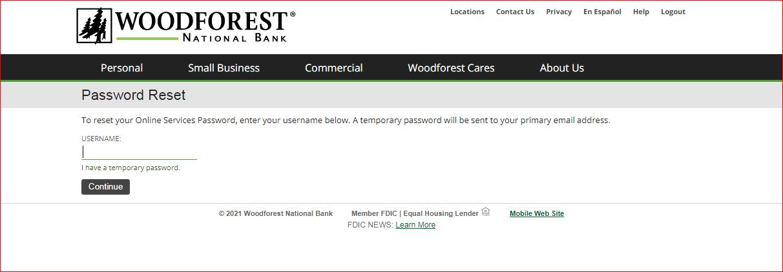 woodforest bank online banking 2