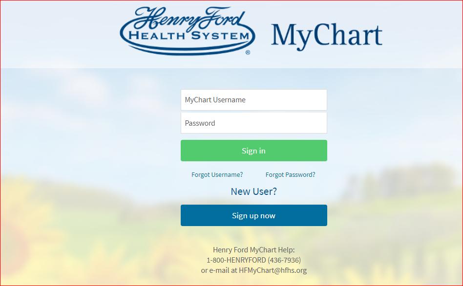 Mychart Henry Ford